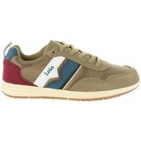 Scarpe Unisex bambino Sneakers basse Lois Jeans 83775 Beige