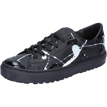 Scarpe Donna Sneakers basse Date sneakers nero pelle vernice AB561 Nero