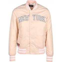 Abbigliamento Donna Giubbotti Schott Blouson JKT STADIUM   Brode New York  Blush Rose Clair Rosa