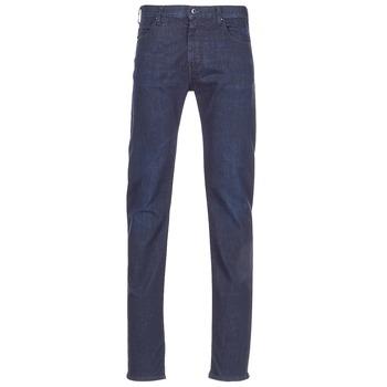 Abbigliamento Uomo Jeans dritti Emporio Armani BOUWI Blu / Medium