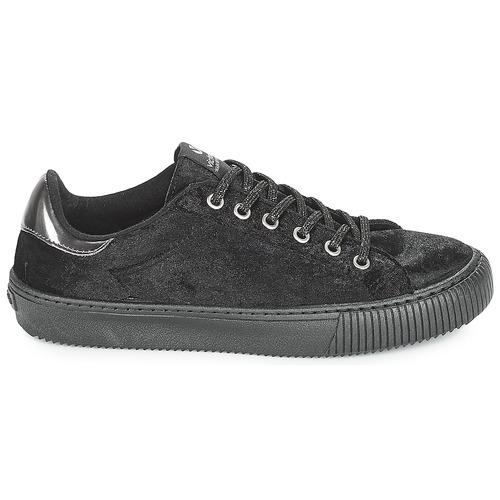 Victoria Terciopelo Sneakers Deportivo Basse Nero dxshQBtrC