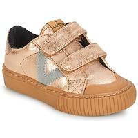 Scarpe Bambina Sneakers basse Victoria DEPORTIVO VELCRO METALIZAD Rosa