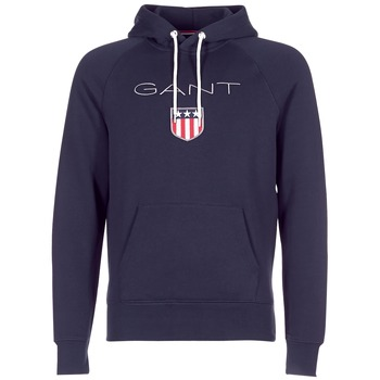 Abbigliamento Uomo Felpe Gant GANT SHIELD SWEAT HOODIE Marine