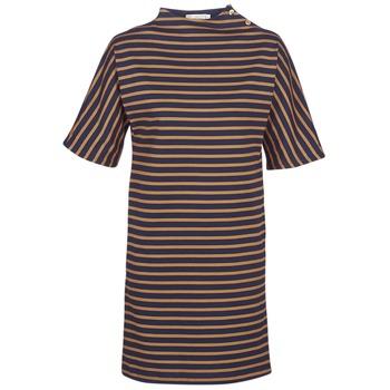 Abbigliamento Donna Abiti corti Petit Bateau TUESDAY Marine / Giallo