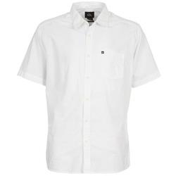 Abbigliamento Uomo Camicie maniche corte Quiksilver EVERYDAY SOLID SS Bianco