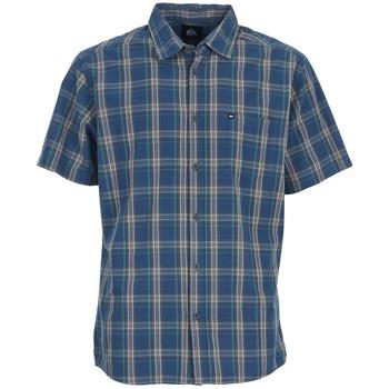 Abbigliamento Uomo Camicie maniche corte Quiksilver EVERYDAY CHECK SS Blu