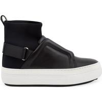 Scarpe Donna Sneakers alte Pierre Hardy Sneakers alte  donna in pelle nero