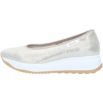 Scarpe Donna Sneakers basse Agile By Ruco Line 0136-83403 Décolleté Donna Platino Platino