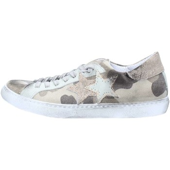 Scarpe Uomo Sneakers basse 2 Stars 2S1855 Sneakers Uomo Camouflage / Taupe Camouflage / Taupe