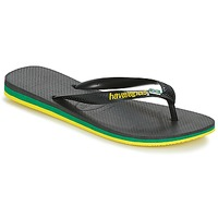 Scarpe Uomo Infradito Havaianas Brasil Layers Nero