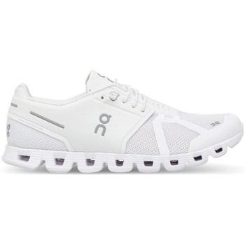 Scarpe Sneakers On Running ONCLOUD WOMAN ALL WHITE Bianco