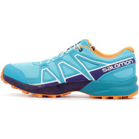 Scarpe Unisex bambino Running / Trail Salomon Speedcross Junior Blu