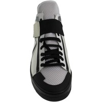 Scarpe Uomo Sneakers alte Louise Open SNEAKERS  ART:TN0100 MATERIALE TESSILE NERO CON INSE BIANCO