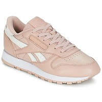 Scarpe Donna Sneakers basse Reebok Classic CLASSIC LEATHER Rosa / Bianco