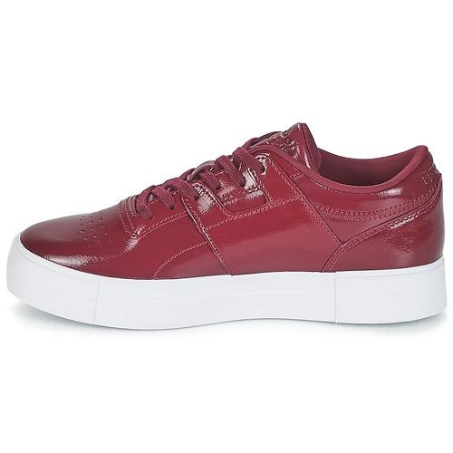 Consegna 5000 Fvs Bordeaux Donna Sneakers Scarpe Reebok Gratuita Classic Workout Lo Basse JlKF1c