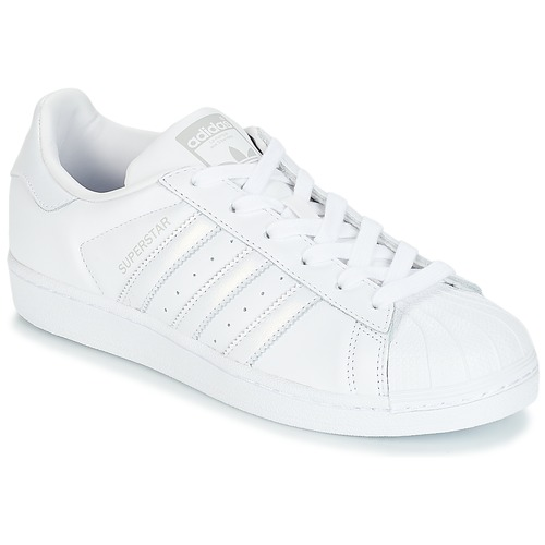 best service e6c18 c2e17 Scarpe Donna Sneakers basse adidas Originals SUPERSTAR W Bianco   Argento