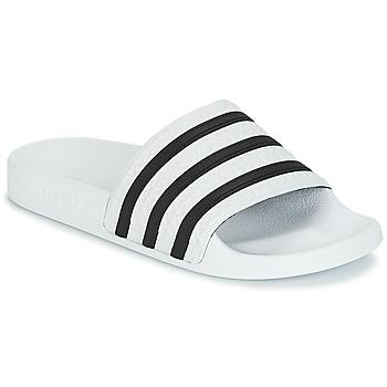 Scarpe Sneakers basse adidas Originals ADILETTE Bianco / Nero