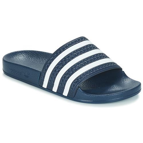 Scarpe ciabatte adidas Originals ADILETTE Marine / Bianco