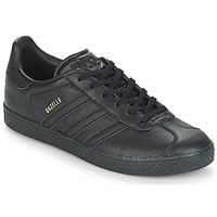Scarpe Unisex bambino Sneakers basse adidas Originals GAZELLE J Nero