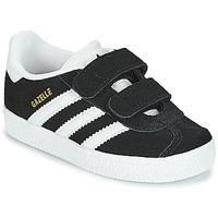 Scarpe Unisex bambino Sneakers basse adidas Originals GAZELLE CF I Nero