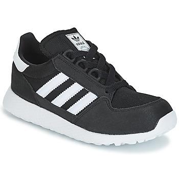 Scarpe Unisex bambino Sneakers basse adidas Originals OREGON C Nero