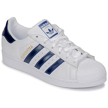 Scarpe Sneakers basse adidas Originals SUPERSTAR Bianco / Blu