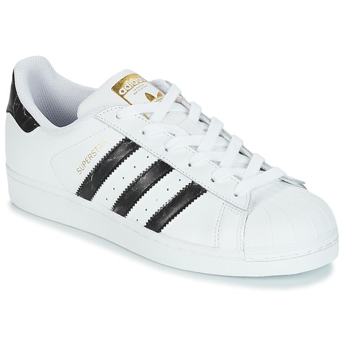 Adidas Originals SUPERSTAR Bianco / Nero     basse  100