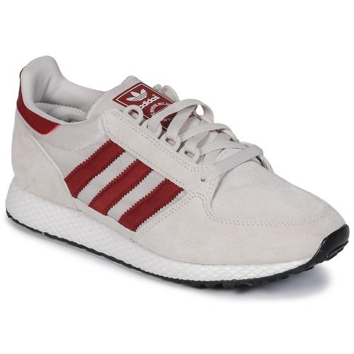 Adidas Originals OREGON Beige / Rosso Ginnastica  Scarpe Scarpe da Ginnastica Rosso basse  79,95 d21bf5