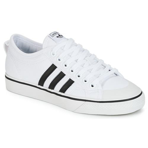 adidas Originals NIZZA Bianco / Nero  Scarpe Sneakers basse  69,95