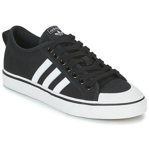 adidas Originals NIZZA Nero / Bianco  Scarpe Sneakers basse  69,95