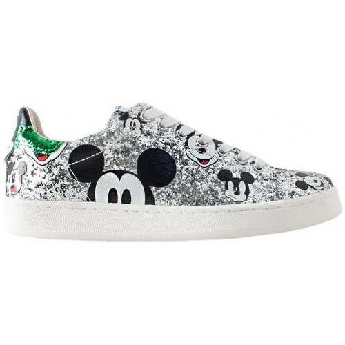 Moa MD148KIT Silver Green Mickey Mouse Multicolor - Scarpe Sneakers Donna 165