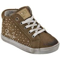 Scarpe Unisex bambino Sneakers alte Liu Jo 20765 Zip Sportive alte taupe