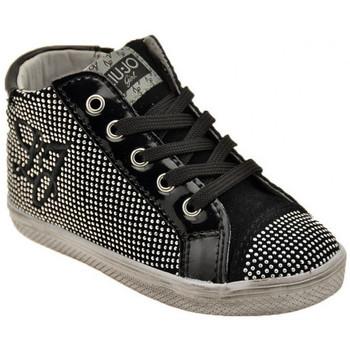 Scarpe Unisex bambino Sneakers alte Liu Jo 20766 Zip Sportive alte nero