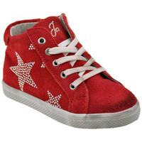Scarpe Unisex bambino Sneakers alte Liu Jo 20767 Zip Sportive alte rosso
