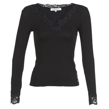 Abbigliamento Donna T-shirts a maniche lunghe Morgan TRACY Nero