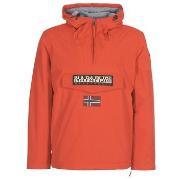Abbigliamento Uomo Parka Napapijri RAINFOREST WINTER Arancio