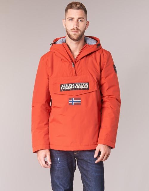 Gratuita Napapijri Parka Rainforest Winter Abbigliamento Uomo Arancio Consegna 11940 6bgY7yvf