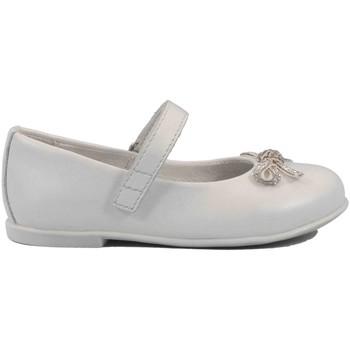 Scarpe Bambina Ballerine Mazzarino 17 - 30022F-1 Ballerina Cerimonia Bambina Bianco Bianco