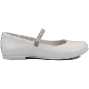 Scarpe Bambina Ballerine Mazzarino 19 - 30022L-1 Ballerina Cerimonia Bambina Bianco Bianco