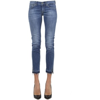 Abbigliamento Donna Jeans 3/4 & 7/8 Dondup DONDUP JEANS DONNA P282DS146DR07G800  BLU
