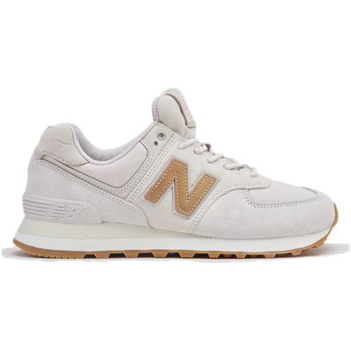 New Balance WL574CLS/ MOONBEAM Stagione Colore Bianco - Scarpe Sneakers basse Donna 81,00
