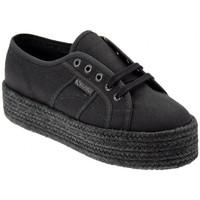 Scarpe Donna Sneakers alte Superga 2790COTCOLORPEWSneakers nero