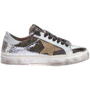 Scarpe Donna Sneakers basse Golden Goose May Silver Argento