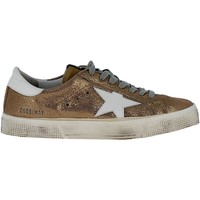 Scarpe Donna Sneakers Golden Goose Sneakers May Gold Oro
