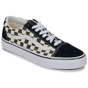 Scarpe Sneakers basse Vans OLD SKOOL Bianco / Nero