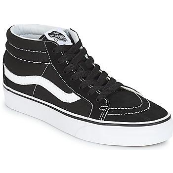 Scarpe Sneakers alte Vans SK8-MID REISSUE Nero / Bianco