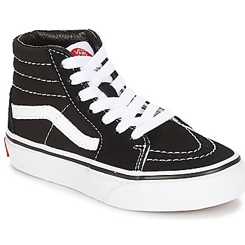 Scarpe Unisex bambino Sneakers alte Vans UY SK8-HI Nero / Bianco