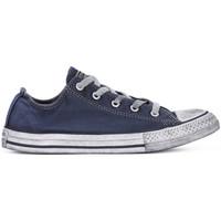 Scarpe Bambino Sneakers basse Converse ALL STAR LO CANVAS LTD NAVY Blu