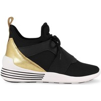 Scarpe Donna Sneakers basse Kendall + Kylie Scarpe Da Donna Braydin Nera Oro Sneakers Kendall + Kylie FW 201 Nero