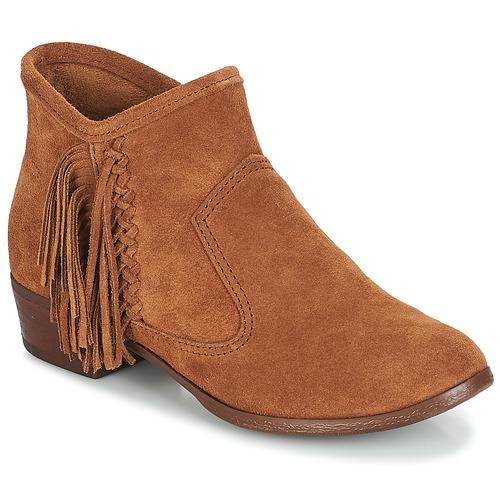 Minnetonka BLAKE BOOT Camel  Scarpe Stivaletti Donna 149